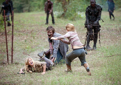 The Walking Dead 4x14: Il bosco