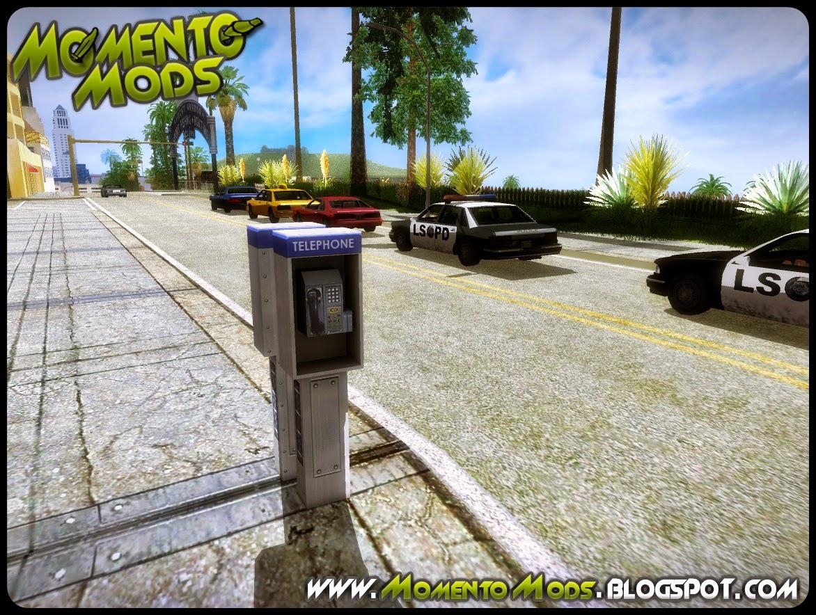 GTA SA - Novo Telefone Em HD