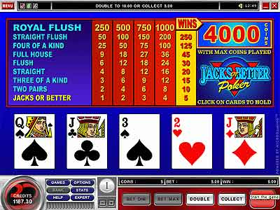 video poker tricks