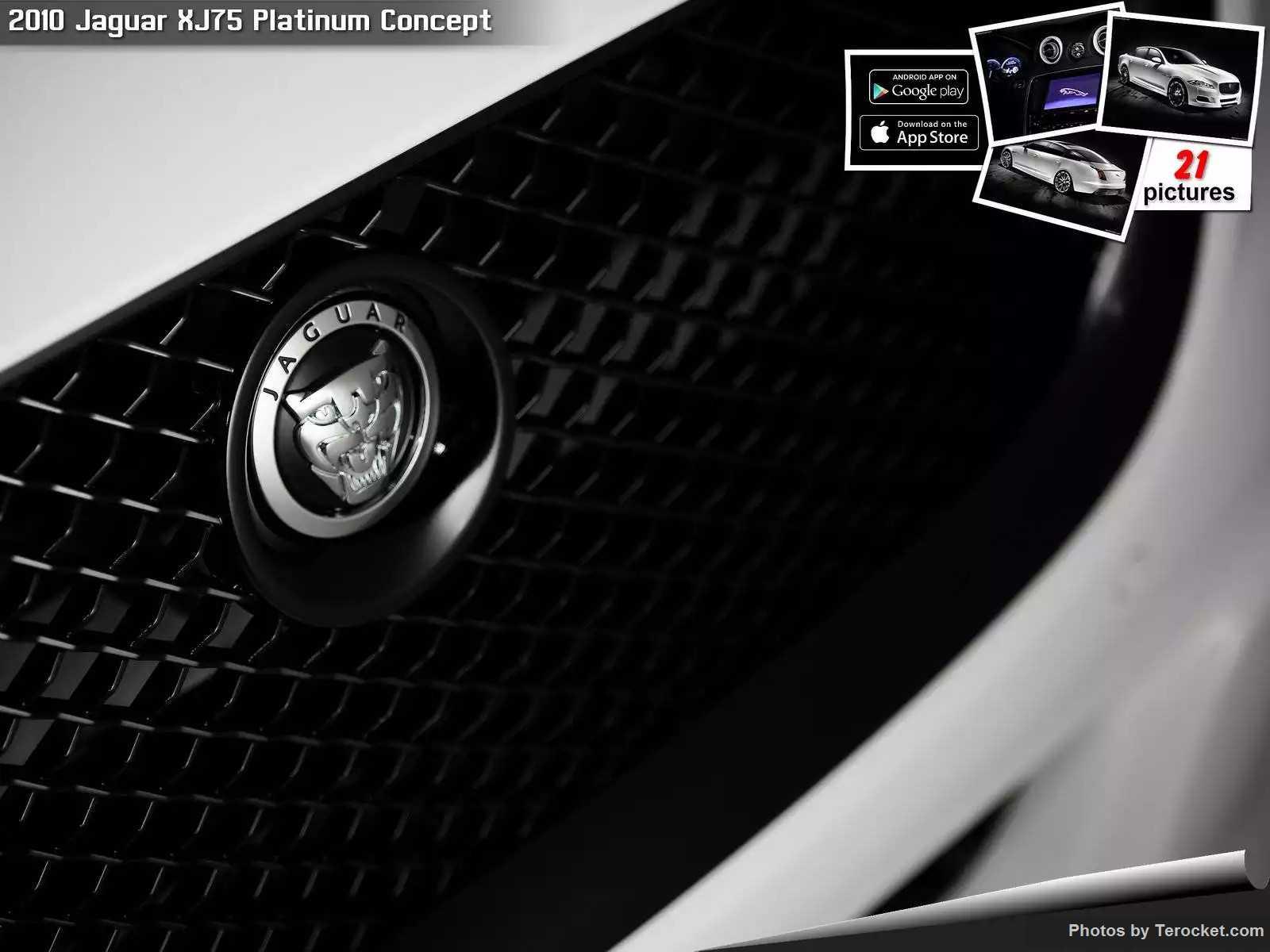 Hình ảnh xe ô tô Jaguar XJ75 Platinum Concept 2010 & nội ngoại thất