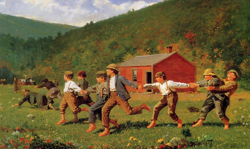 account of the life and works of winslow homer Although there were no similarities in the work of winslow homer, and other  french painters, he did share quite a few interests with painters and artists in the .