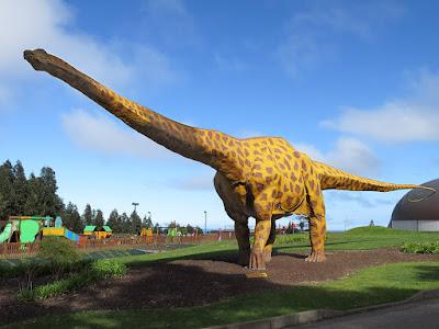 Diplodocus, museo del Jurásico
