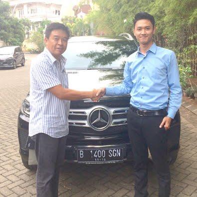 Pembelian GLS 400 Exclusive a/n Bapak Subagja