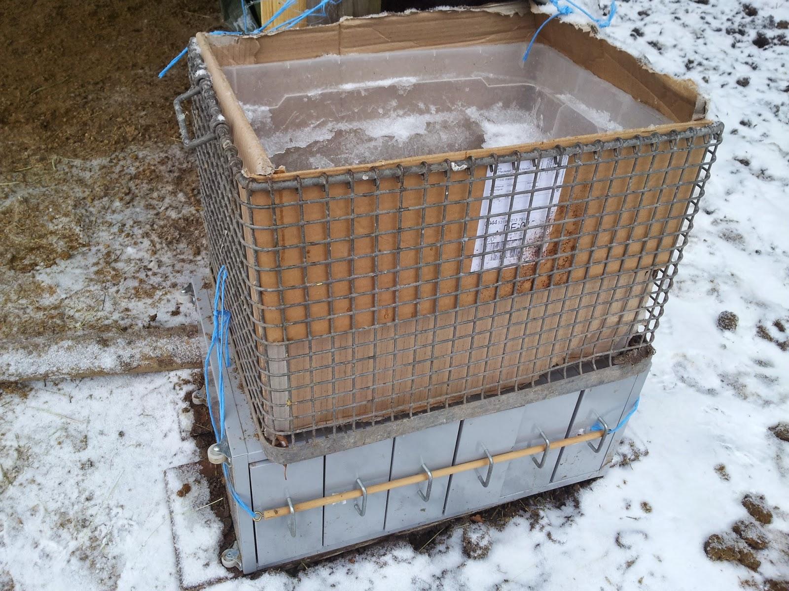 Pferde Blog: Frostfreie Tränke im Winter auf dem Paddock ...