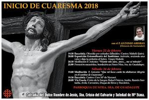 INICIO CUARESMA 2018