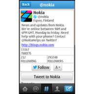 Twitter for Nokia Asha