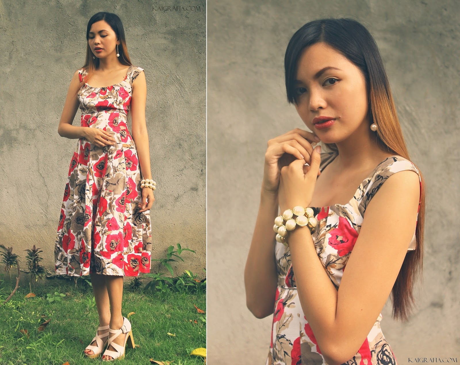 Floral Printed Dresses from Tideshe