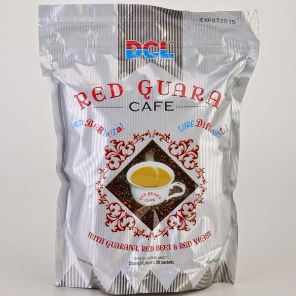 Status kandungan kopi jenama DCL Red Guara Cafe selepas analisis kimia