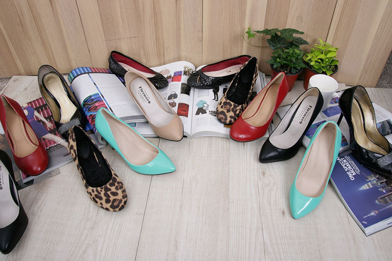 She Who Dies with the Most Shoes Wins