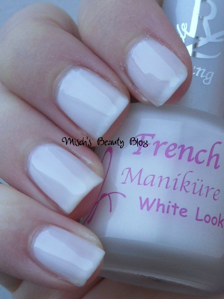Misch\'s Beauty Blog: NOTD December 6th: RdLY French Manicure White ...