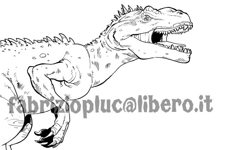 Pluccomix dinosauri da colorare for Disegni da colorare dinosauri