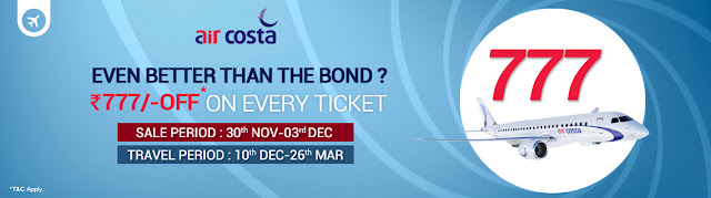 AirCosta 777 Off on every Ticket, www.aksharonline.com, Akshar Infocom, Ghatlodia Air Ticketing Agent, +91-8000999660