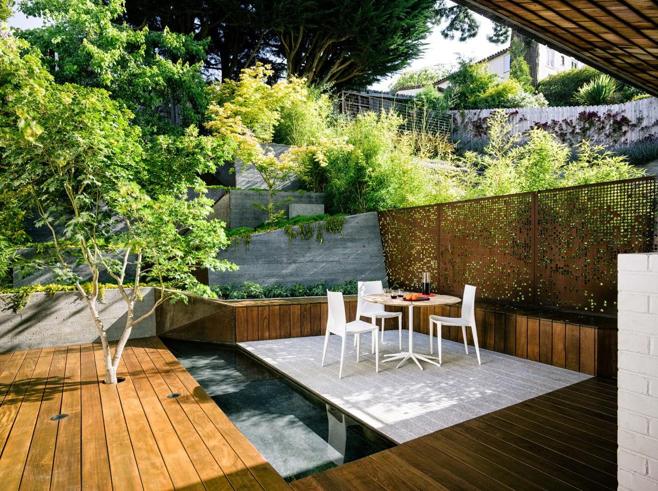 Un faro de ideas jardin escalonado for Faros para jardin
