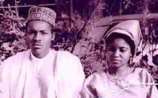 Check Out President Buhari And Former Wife Safinatu (Photos)