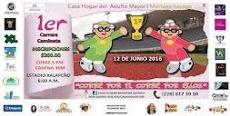 """Este 12 de junio, Primera Carrera y Caminata """"Corre por ti, corre por ellos"""""""