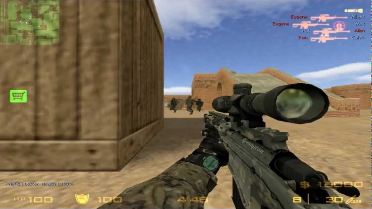 Counter Strike 1.6 Modern Warfare 2 PC