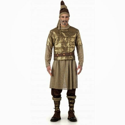 Disfraz de Guerrero de Xian de Terracota