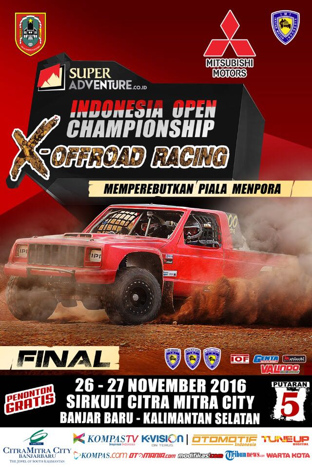 INDONESIA OPEN CHAMPIONSHIP OFFROAD RACING