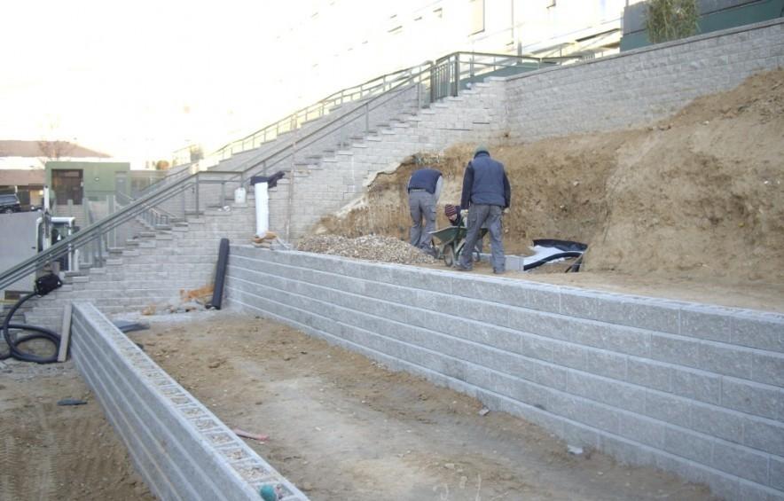 El maestro de obras xavier valderas construir paredes de for Bloques de hormigon baratos