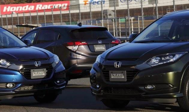 Honda HRV Desain