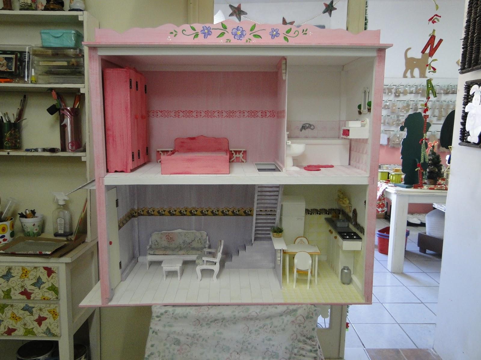 Casas e Casinhas Home Store: Casa de Bonecas Barbie Modelo Grande #71423E 1600x1200 Banheiro Da Barbie Para Comprar