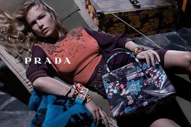 Publicidad Subliminal: Enero 2014 Prada Resort Campaign 2014
