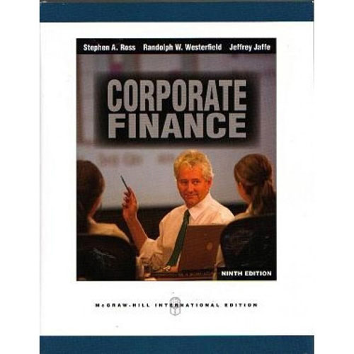9e ross westerfield jaffe corporate finance answers Ebook corporate finance 9th edition mini case solutions pdf at  case  solutions for corporate finance ross, westerfield, and jaffe 9th.
