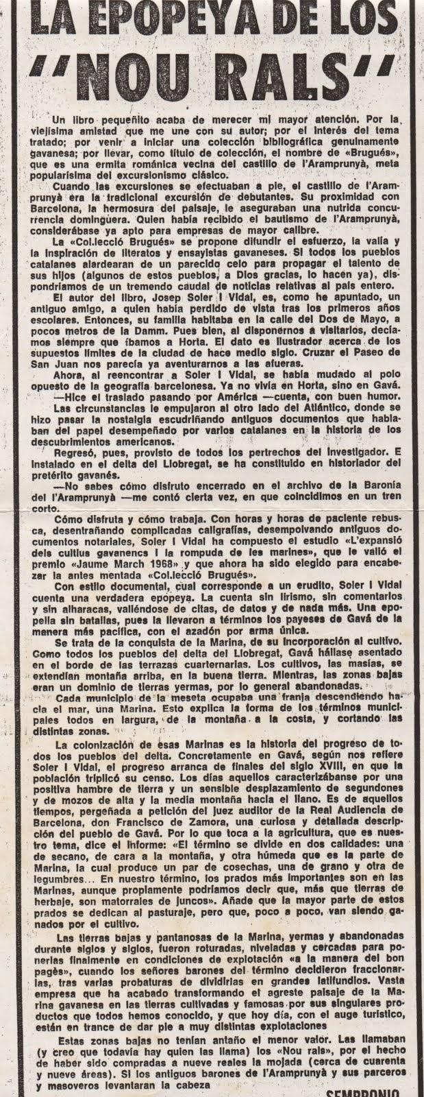 Diari Tele/Expres, 1969