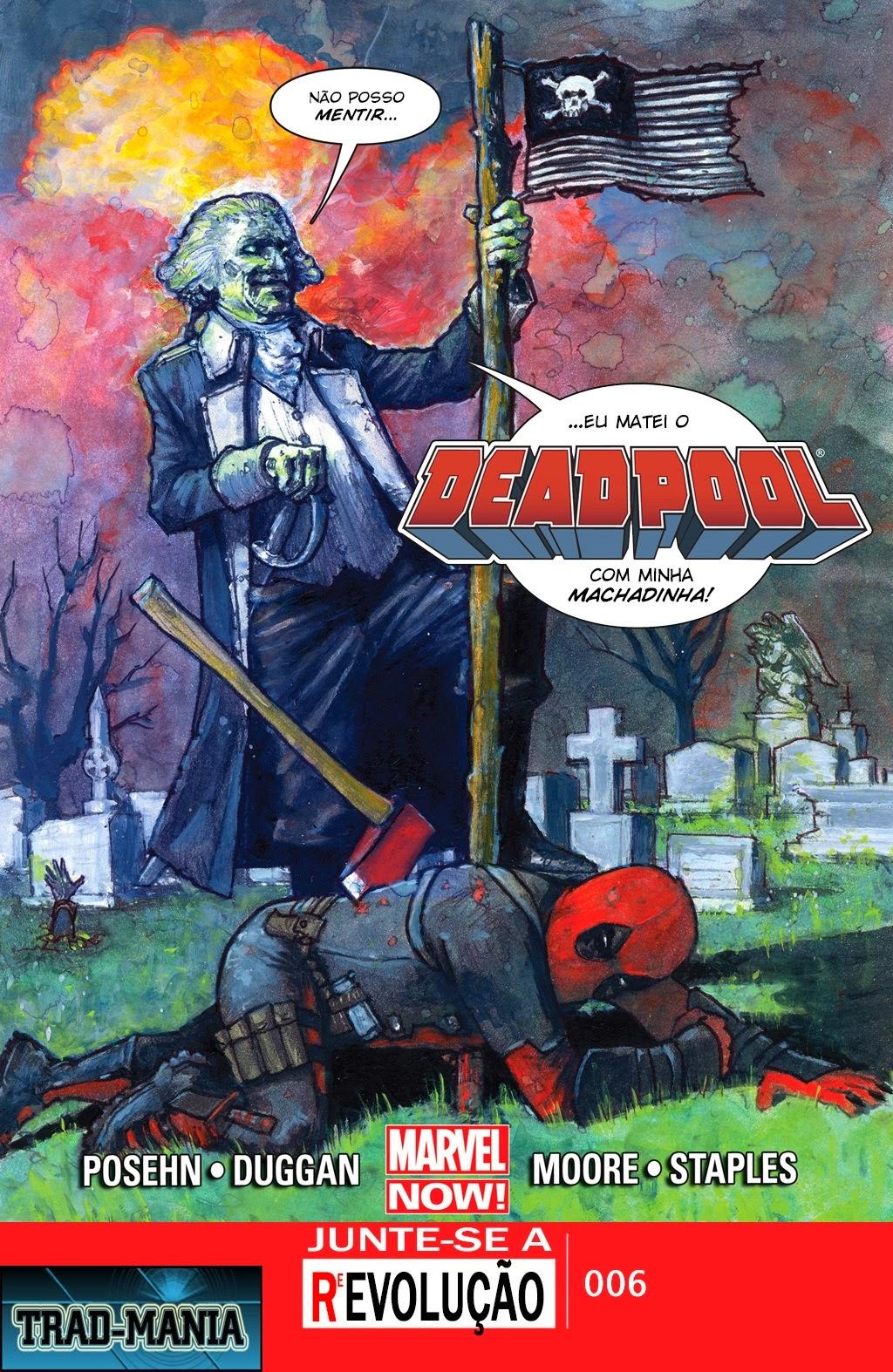 Nova Marvel! Deadpool v5 #6