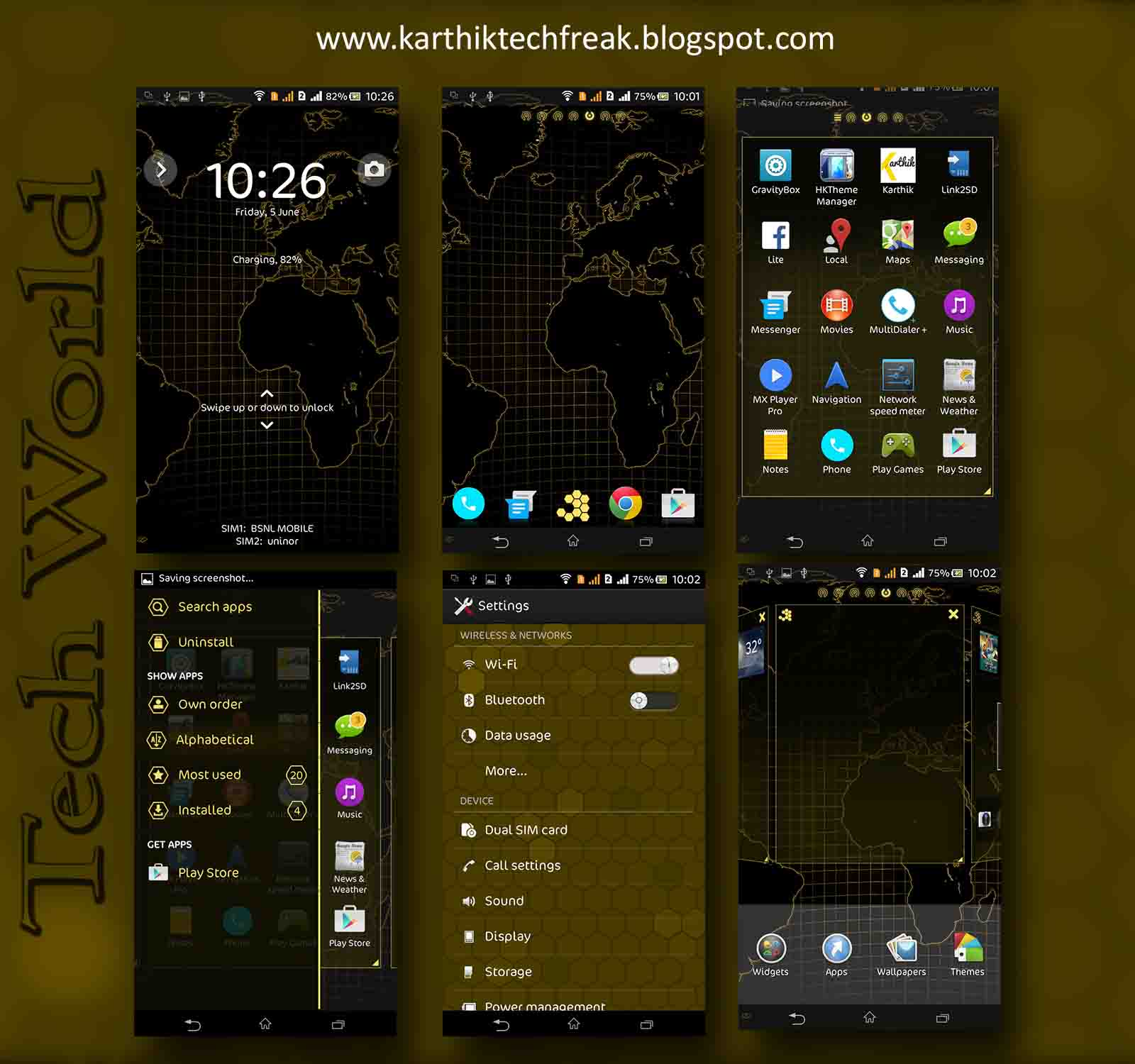 Themes for XPERIA