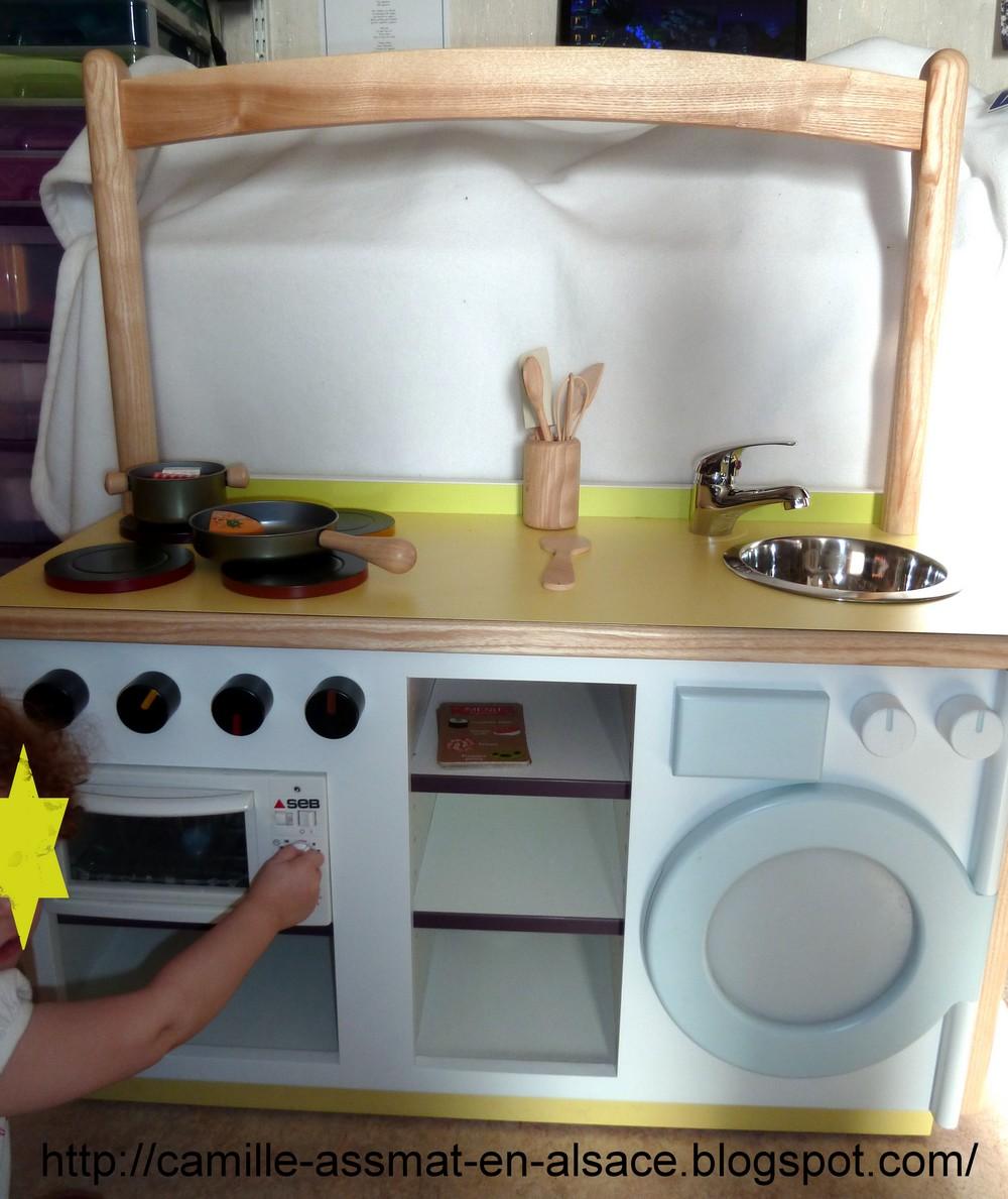 Nounou nature en alsace cuisini re en bois for Cuisine fait maison
