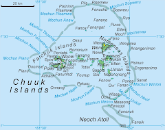 Map of Chuuk State