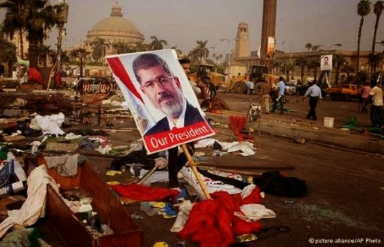 Mursi our President - AP photo