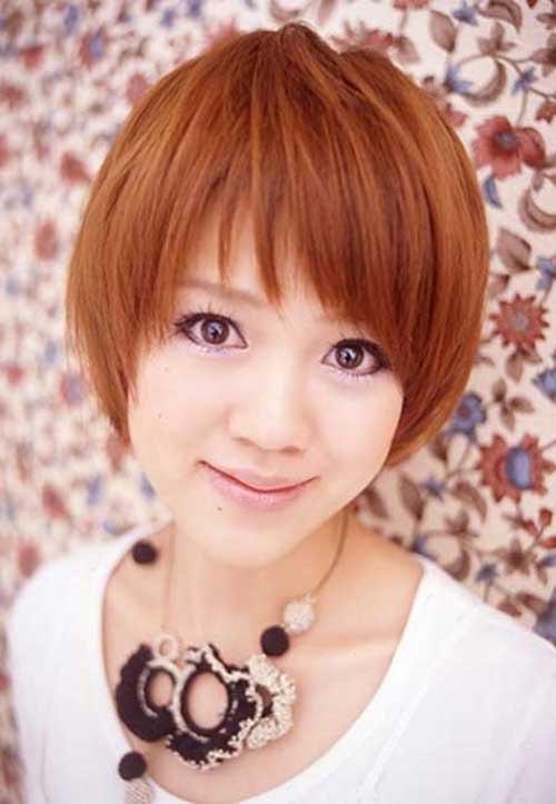 Short Hair For Round Faces Asian : Latest short straight haircuts for round faces jere