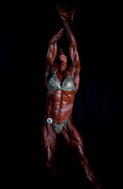 From cancer victim to UK's most muscular woman - how Sandi Birkett became Ms Britain