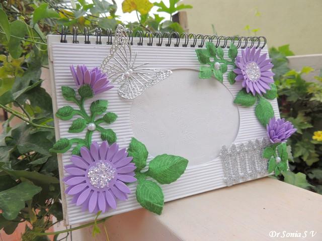 handmade foam flowers