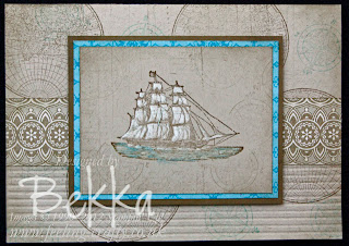 The Open Sea from Stampin' Up! featuring Simply Scored! details