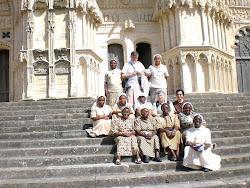 capitulantes en visite cathédrale Bourges