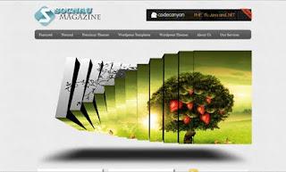 Socnau Magazine WordPress Theme