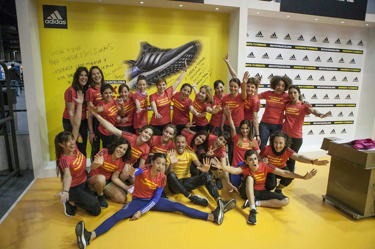 evento ultra boost Adidas Chema Martínez Alma Obregón