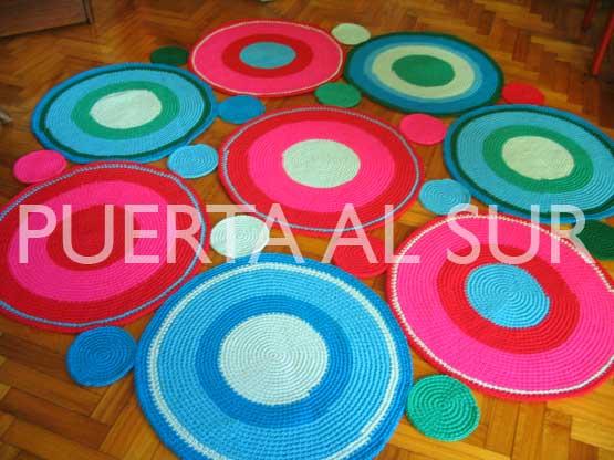 Puerta al sur alfombras redondas que decoran for Alfombras redondas modernas