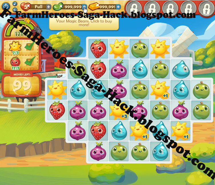 how to get gold bars in farm heroes saga