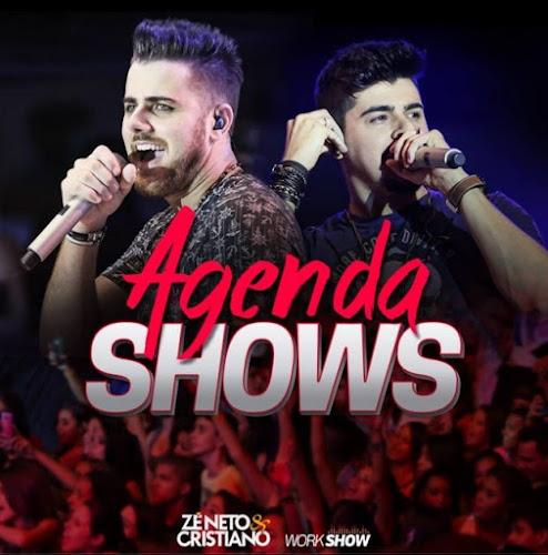 Agenda de Shows Novembro 2016 - Zé Neto & Cristiano