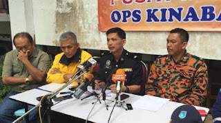 Ketua Polis Daerah Ranau, Deputi Superintendan Mohd Farhan Lee Abdullah