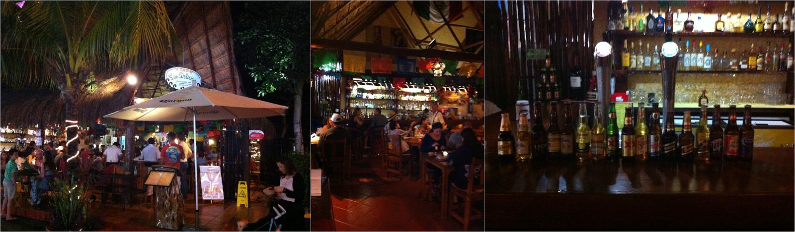 Las Delicias, carne, parrilla, peixe, seafood, nachos, Playa Del Carmen, México, Caribe, playa, cerveja