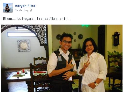 Iriana dan Adryan