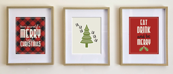 Simply Christmas PR, Christmas posters, Home Decor