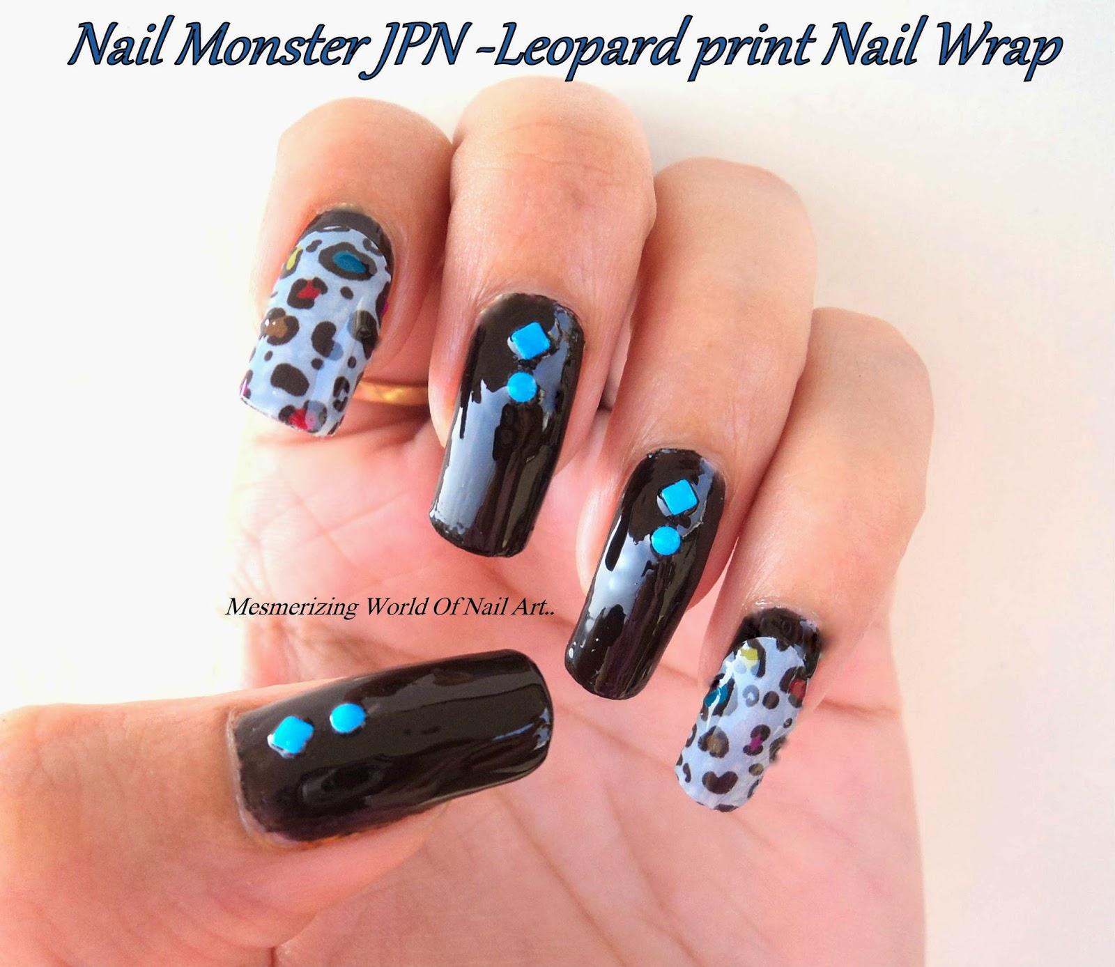Nail Monster JPN Nail Wraps
