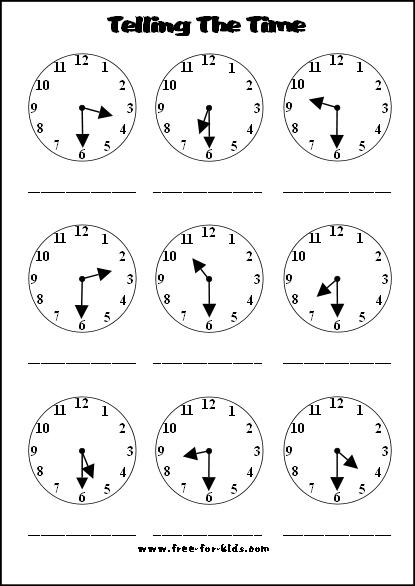 half past telling time worksheets MEMES