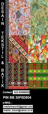 desain batik tekstil